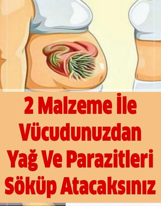 Sadece 2 Malzeme İle Vücudunuzdaki Yağ Ve Parazitleri Çıkarın - 1