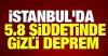 İstanbul'da 'gizli deprem' olmuş