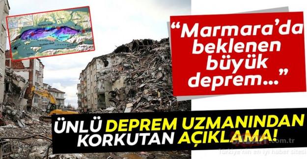Marmara'da Beklenen Büyük Deprem