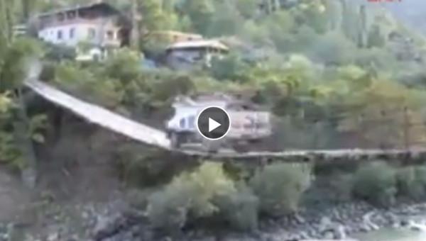 Asma Köprüden Geçerken Azrail İle Selamlaşan Usta Türk Şoför