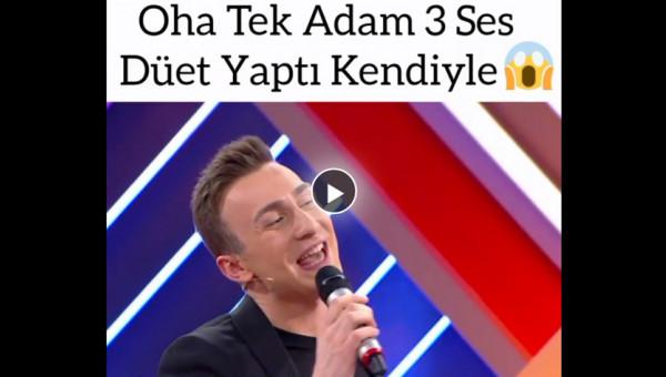 Sefa Doğanay' dan 3 kişilik muhteşem düet!